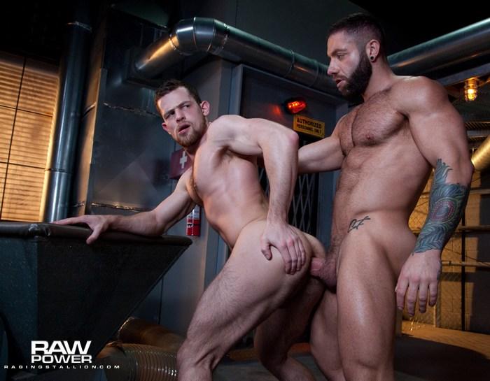 Kurtis Wolfe Gay Porn Eddy CeeTee Bareback Sex Muscle Hunk Raging Stallion