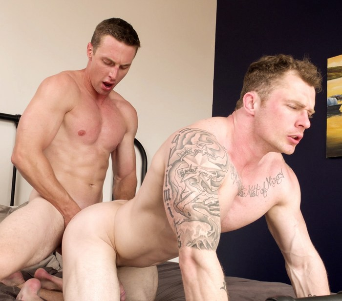 Markie More Gay Porn Muscle Bottom Ricky Ridges