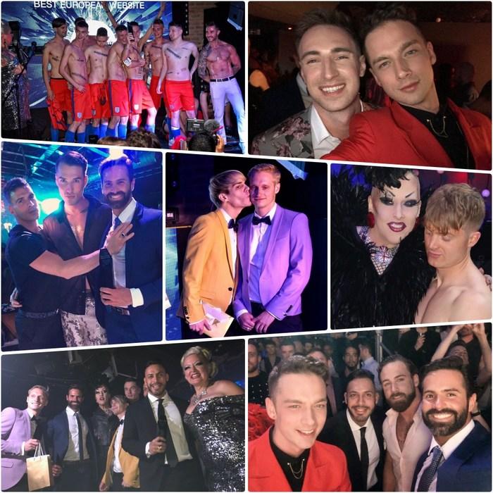 Prowler European Porn Awards 2018 Gay Porn Stars