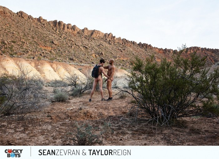 Sean Zevran Gay Porn Taylor Reign CockyBoys Outdoor Sex