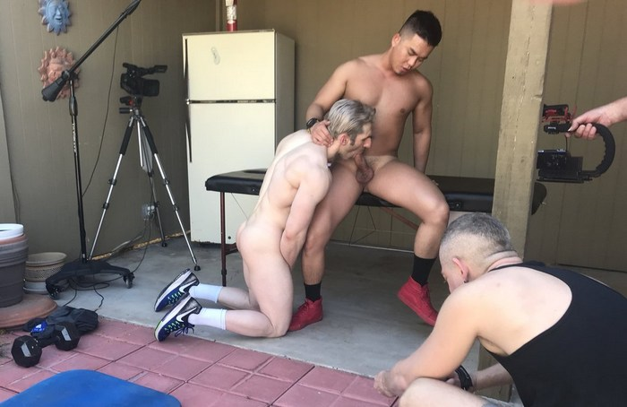 Sir Jet Alex Chu Gay Porn PeterFever Behind The Scenes
