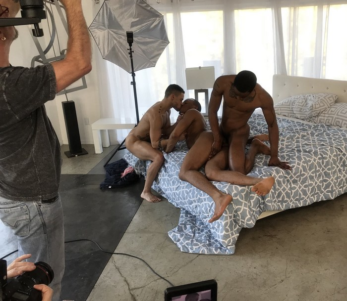 Trey Donovan Trent King Beaux Banks Gay Porn Behind The Scenes