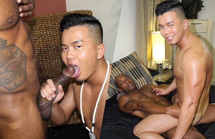 Alex Chu Osiris Blade PeterFever Black Panther Gay Porn Parody