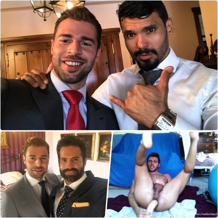 Dario Beck Gay Porn Behind The Scenes Jean Franko Dani Robles Menatplay Suit