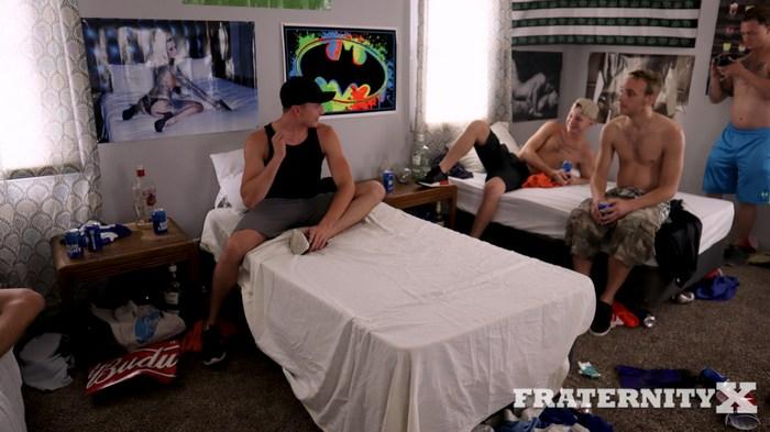 Fraternity X Gay Porn Bareback Gang Bang Tweet This