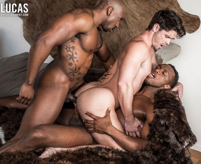 Gay Porn Big Black Cock Double Penetration Max Konnor Devin Franco Andre Donovan Bareback Sex