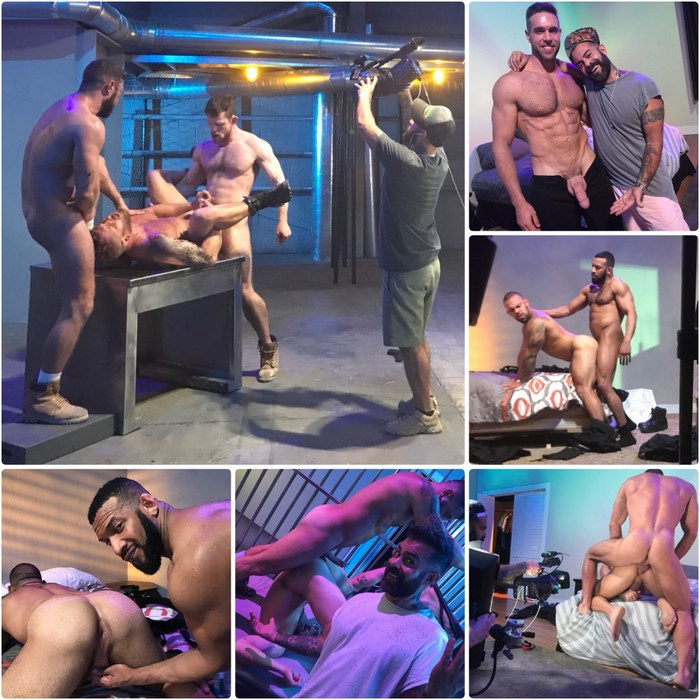 Gay Porn Bounty Hunters Behind The Scenes