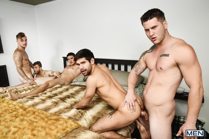 Gay Porn Orgy Ty Mitchell Axel Kane Allen Lucas Brian Michaels Nicolas Ryder