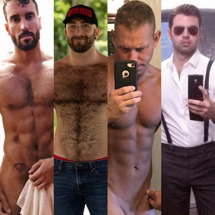 Gay Porn Stars Tristan Baldwin RJ Danvers Dario Beck Pete Aaron Thomas
