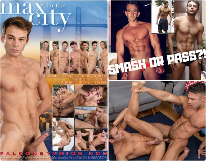 Max Adonis Makes Youtube Videos With Hot Roommate Stars In Falcons Upcoming Gay Porn Movie Max In The City