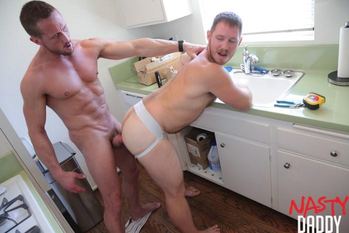 Myles Landon Gay Porn Spencer Whitman Bareback Sex NastyDaddy
