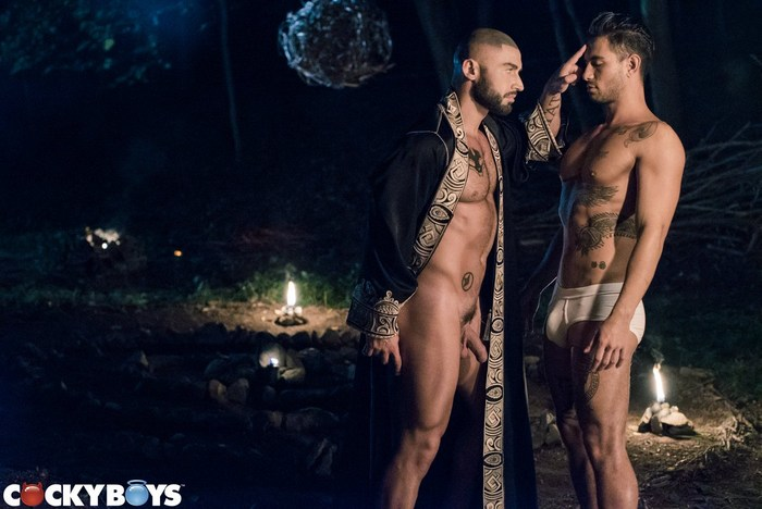 ALL SAiNTS Part 4 A Prince's Pride Gay Porn BTS
