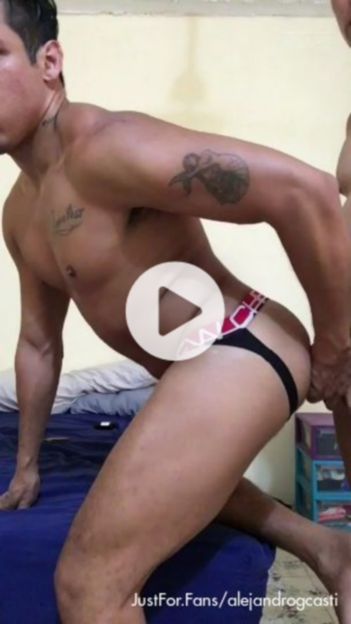 Alejandro Castillo Bottom Gay Porn Bareback Private Sex Tape