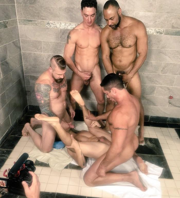 CELL BLOCK D Gay Porn Cade Maddox Nick CapraRocco Steele Ray Diesel Alessio Vega