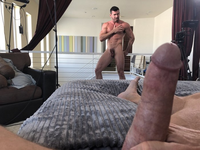 Dallas Steele Adam Awbride Billy Santoro Gay Porn Behind The Scenes