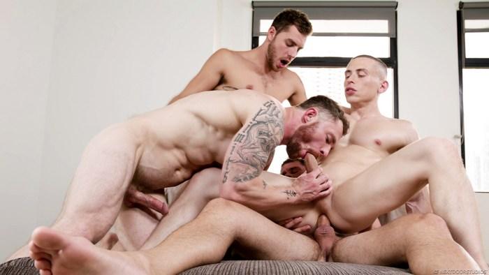 Dante Martin GangBang Gay Porn Markie More Johnny Hill Carter Woods