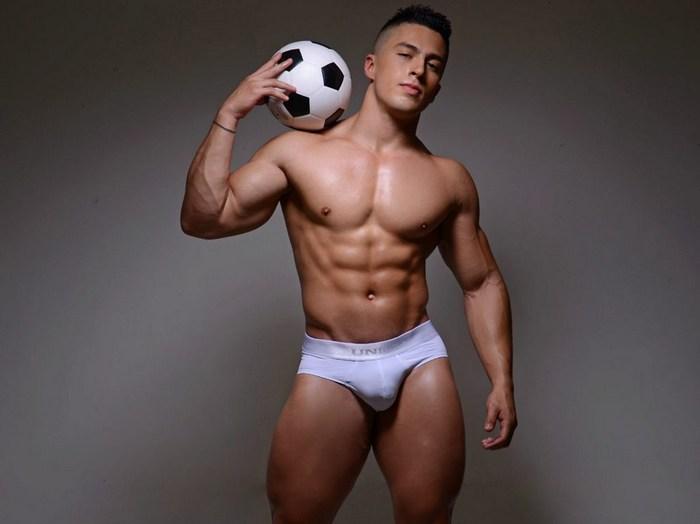 Dante Santos Male Webcam Model Flirt4Free Muscle Jock