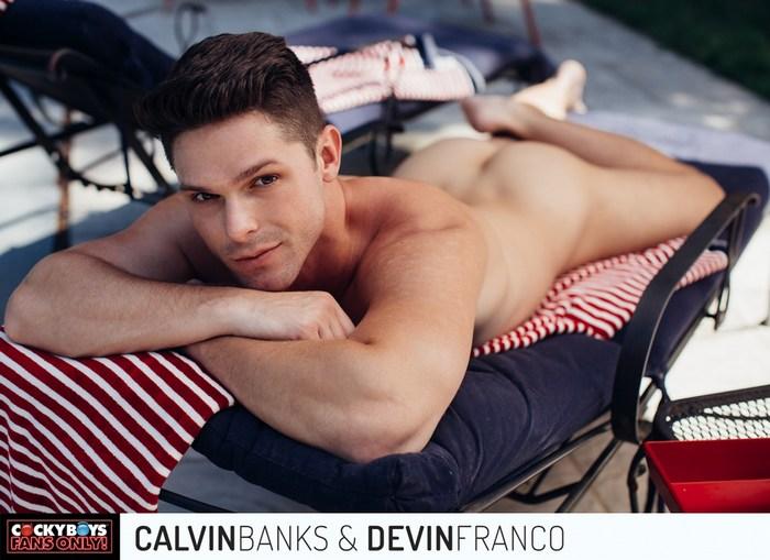 Devin Franco CockyBoys Calvin Banks Gay Porn Bareback Sex