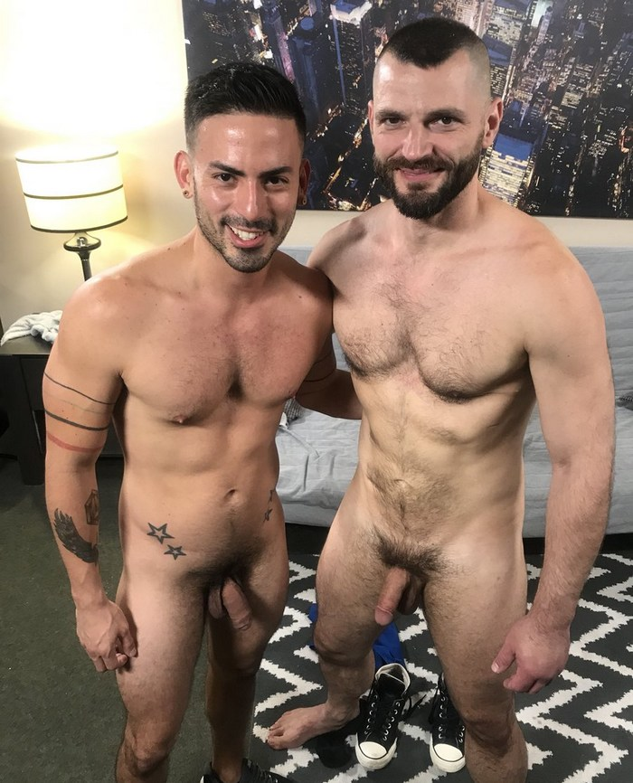Gay Porn BTS Cesar Rossi Jake Morgan