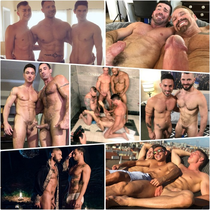 Gay Porn Behind The Scenes Dallas Steele Devin Franco Cade Maddox Nick Capra Francois Sagat
