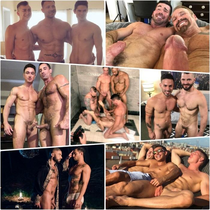 Gay Porn Behind The Scenes Dallas Steele Devin Franco Cade Maddox Nick Capra Francois Sagat