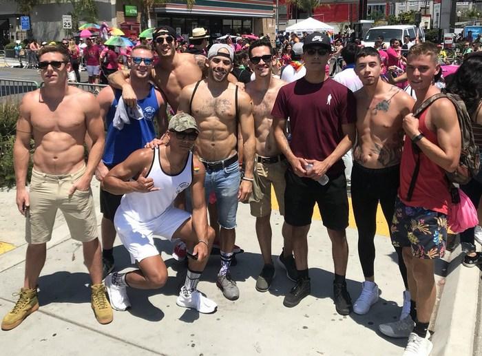 Gay Porn Stars San Diego Pride 2018 Austin Wilde Clark Parker Mateo Vice Greyson Lane Vincent OReilly Justin Matthews Forest Brandon Evans