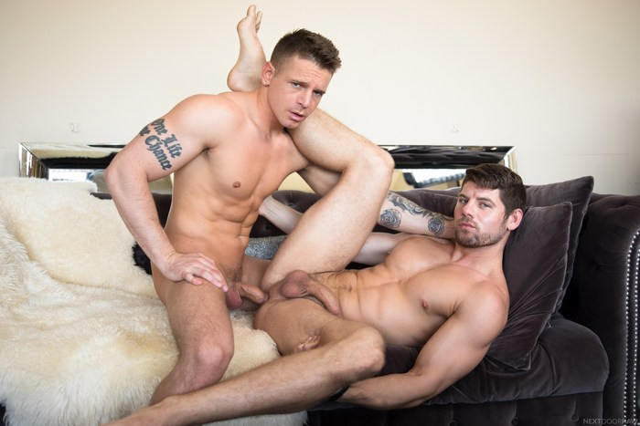 Gunner Gay Porn Connor Halstead Bareback Sex Muscle Jock