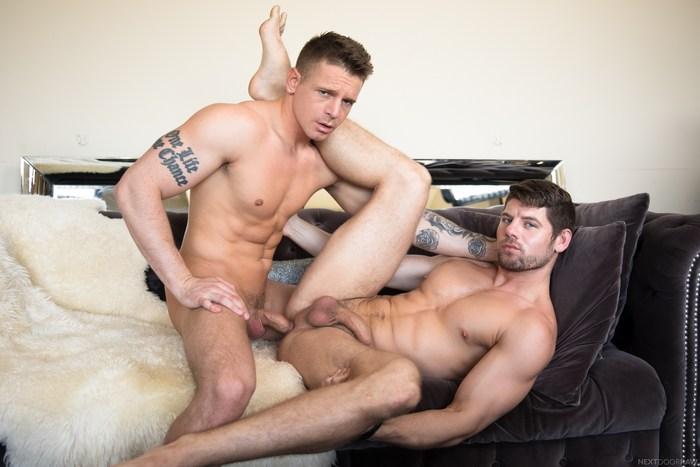 Gunner Gay Porn Connor Halstead Bareback Sex Muscle Jock