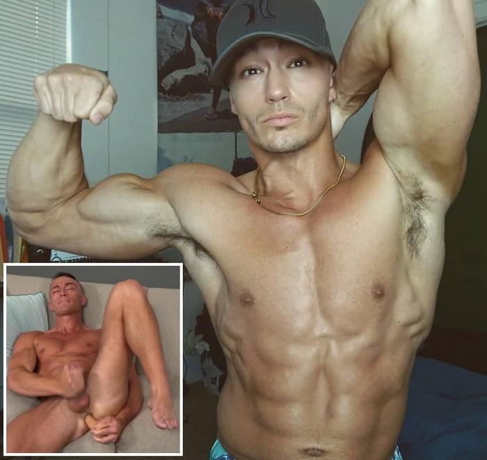 JohnnyNutz Webcam Male Model Jayce SeanCody Gay Porn Dildo