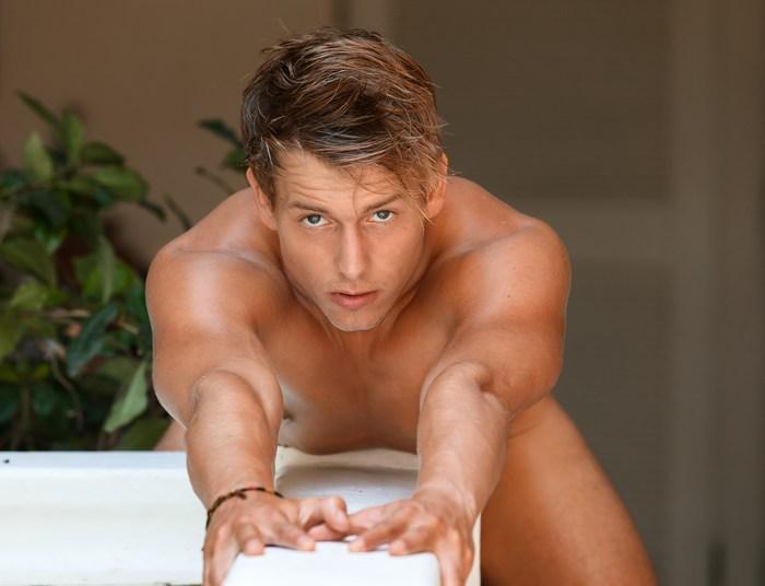 Kevin Warhol BelAmi Gay Porn Star Naked Glamour Shot