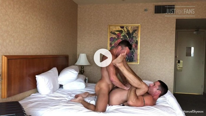 Manuel Skye Muscle Daddy Gay Porn Private Sex Video JustForFans