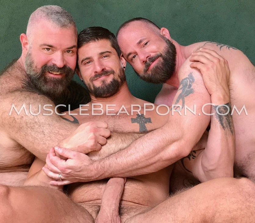 Muscle Bear Porn Sean Maygers Will Angell Liam Angell Gay