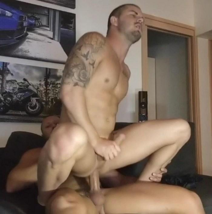 Oz_Gym_Boys Matt Steve Gay Porn Bareback Sex Muscle Bottom JustForFans