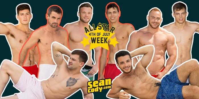 Sean Cody Gay Porn All Star 4th Of July Week 2018