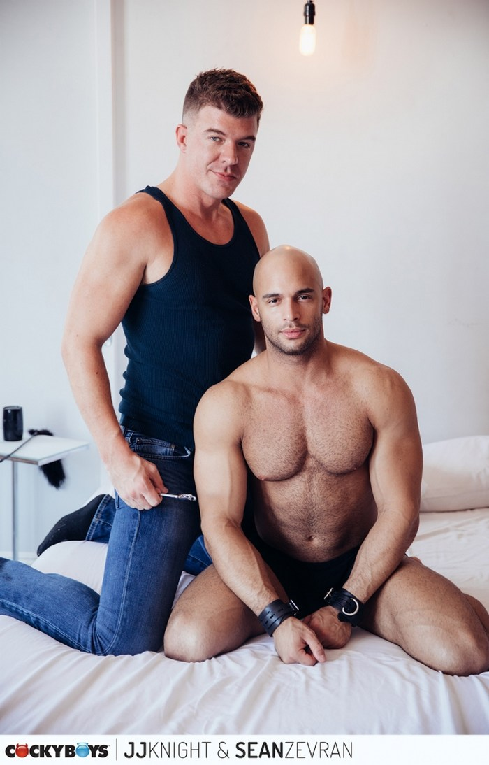 Sean Zevran Gay Porn JJ Knight Big Dick CockyBoys