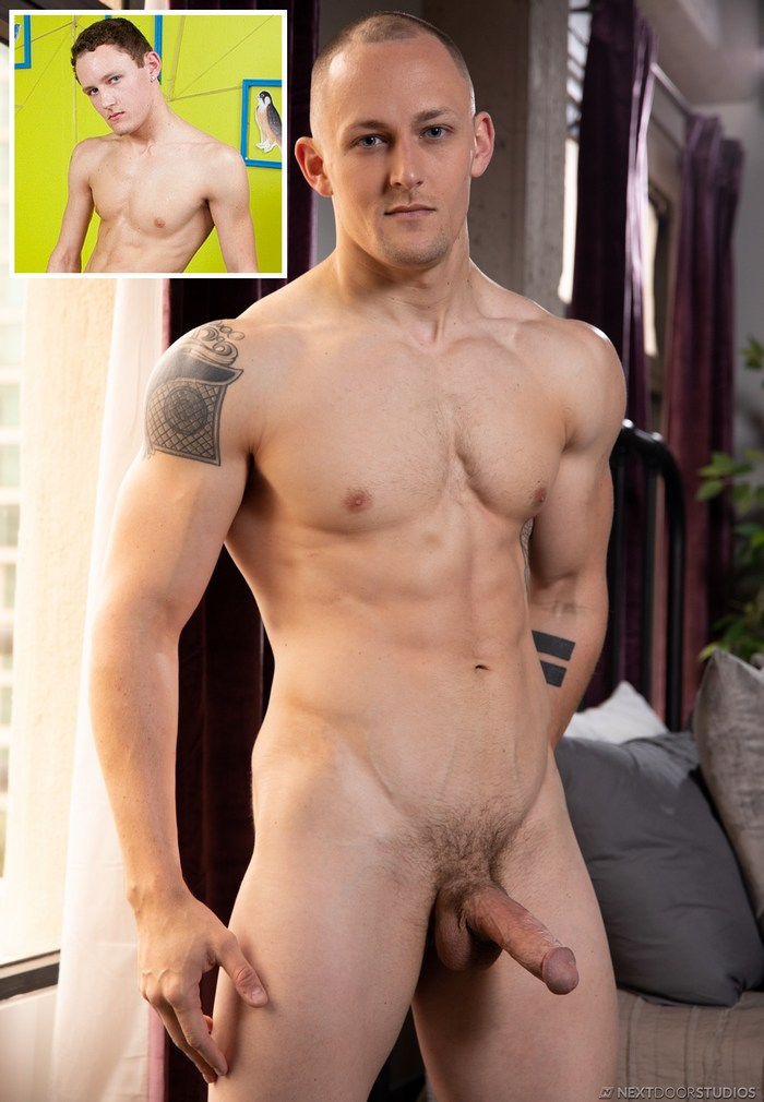 Trevor Laster Gay Porn Star Twink To Muscular Naked Big Dick