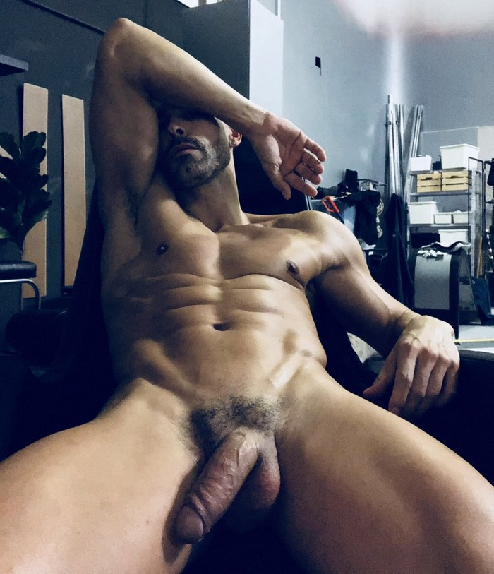 DO Dionisio Heiderscheid Gay Porn Star Muscle Hunk Daddy Naked Big Dick