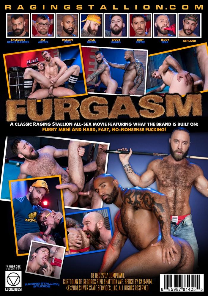 FURGASM Gay Porn DVD