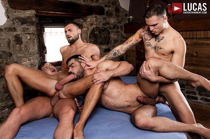 Gay Porn Orgy Bareback Fuck Wagner Vittoria Jeffrey Lloyd Geordie Jackson Leo Rex Muscle Hunk