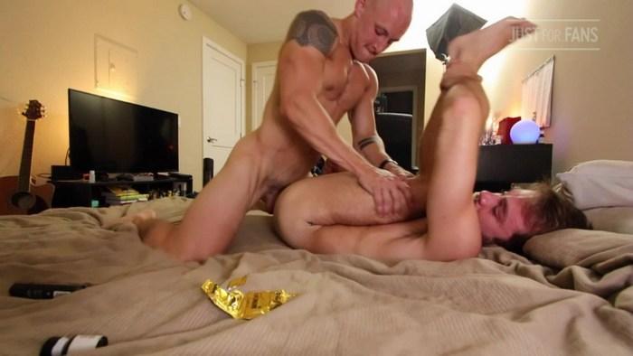 Gay Porn Sex Tape Trevor Laster Fucks Max Adonis JustForFans