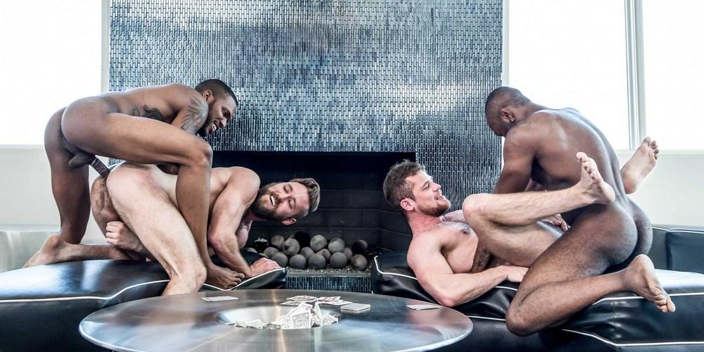 gay porno Strip Poker