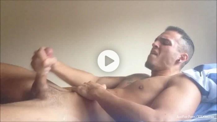 Leo Rex Gay Porn JustForFans Bareback Sex Tape
