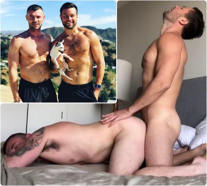 MattAndDick Gay Porn Sex Tape JustForFans Hot Couple Fuck