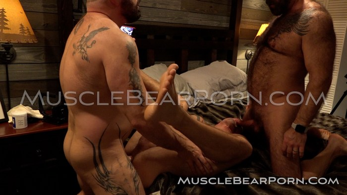 Muscle Bear Porn Sean Maygers Will Angell Liam Angell