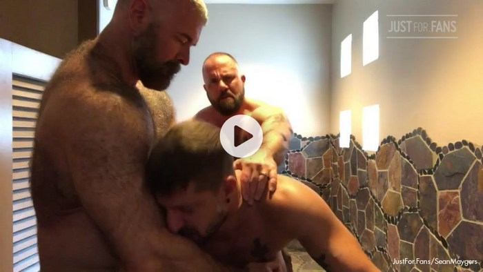 Sean Maygers Gay Porn Sex Tape JustForFans MuscleBearPorn
