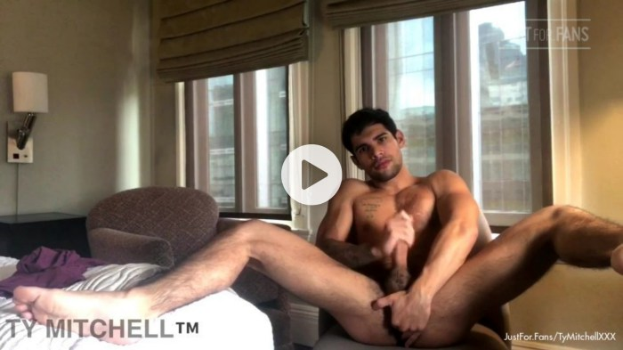 Ty Mitchell Gay Porn Sex Tape JustForFans