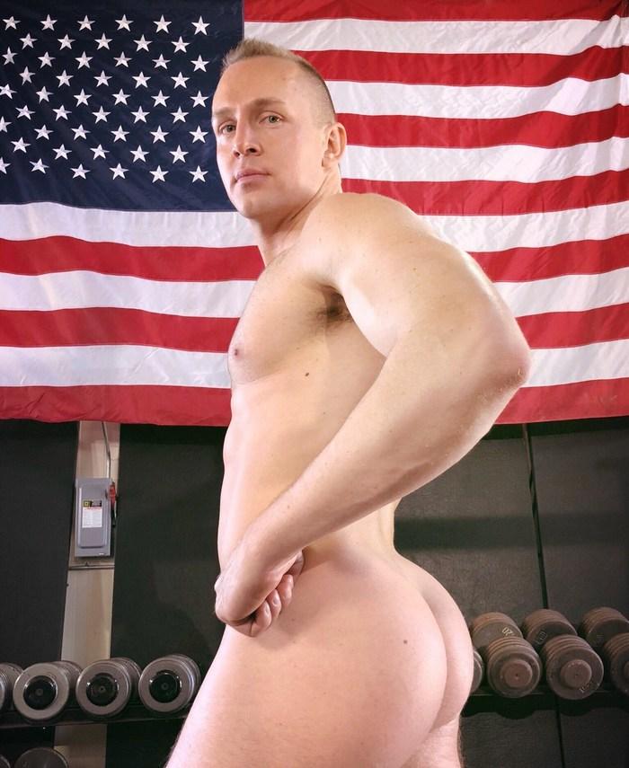 Adam Gregory Broderick Gay Porn Star Naked Butt