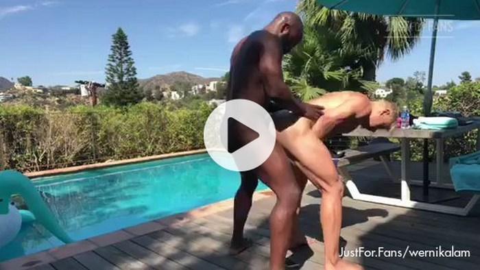 Alam Wernik Gay Porn Bottom Bareback Sex Tape JustForFans