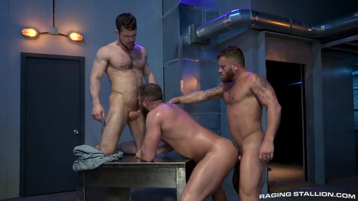 gay hunk hunters