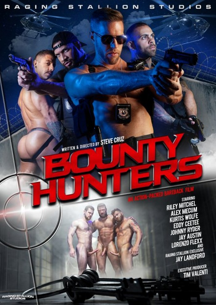 Bounty Hunters Bareback Gay Porn Movie Raging Stallion